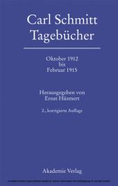 Oktober 1912 bis Februar 1915