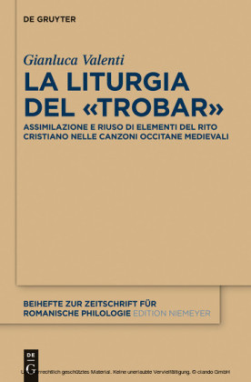 """La liturgia del """"trobar"""""""