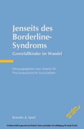 Jenseits des Borderline-Syndroms