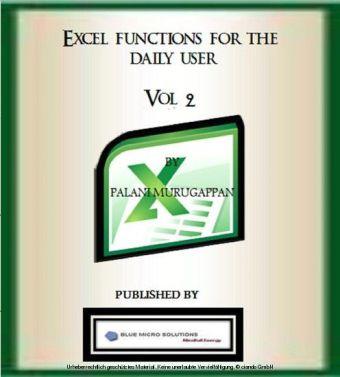 Microsoft Excel Functions Vol 2