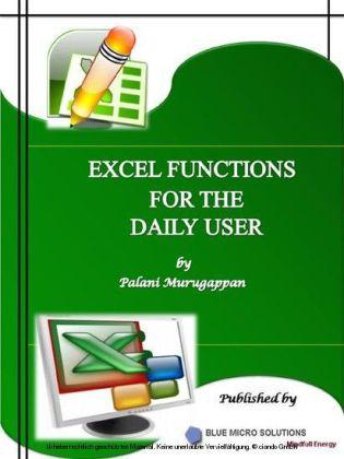 Microsoft Excel Functions Vol 1