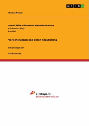 Versicherungen und deren Regulierung