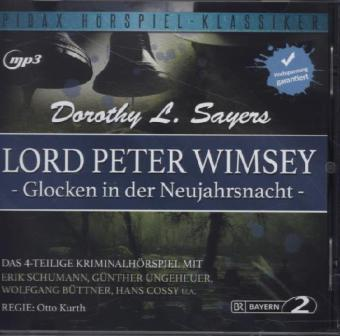 Lord Peter Wimsey: Glocken in der Neujahrsnacht, 1 MP3-CD