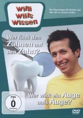 Wer fühlt den Zähnen auf den Zahn? / Wer wirft ein Auge aufs Auge, 1 DVD Cover