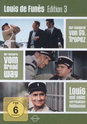 Louis de Funes Edition, 3 DVD