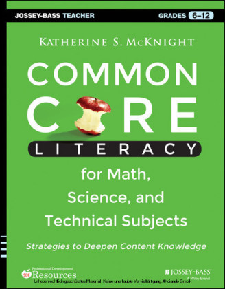 Common Core Literacy for Math, Science, and Technical Subjects