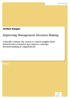 Improving Management Decision Making