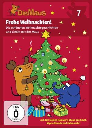 Die Maus - Frohe Weihnachten, 1 DVD