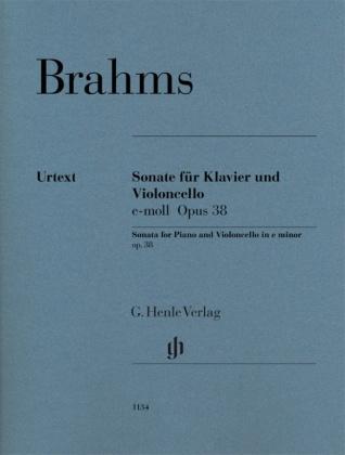 Brahms, Johannes - Violoncellosonate e-moll op. 38
