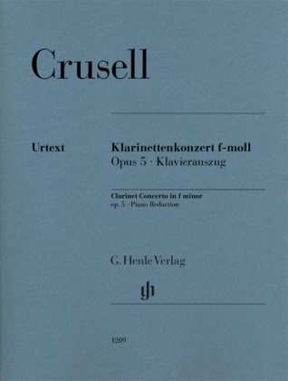 Crusell, Bernhard Henrik - Klarinettenkonzert f-moll op. 5