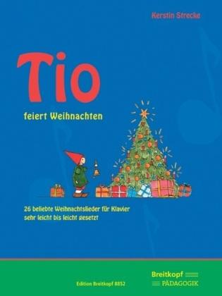 Tio feiert Weihnachten, für Klavier