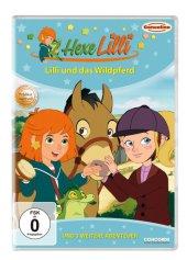 Hexe Lilli - Lilli und das Wildpferd, 1 DVD Cover