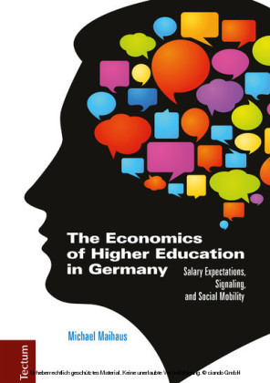 The Economics of Higher Education in Germany