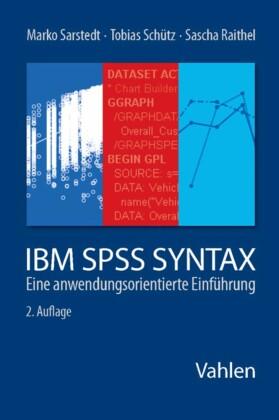 Sarstedt/Schütz, IBM SPSS Syntax
