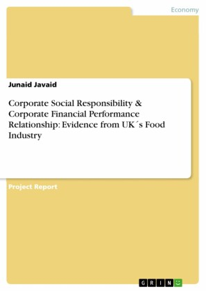 Corporate Social Responsibility & Corporate Financial Performance Relationship: Evidence from UK's Food Industry