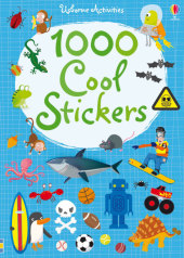 1000 Cool Stickers Cover