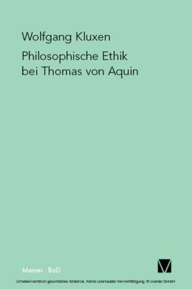 Philosophische Ethik bei Thomas von Aquin