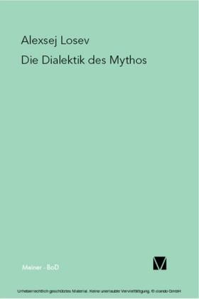Die Dialektik des Mythos