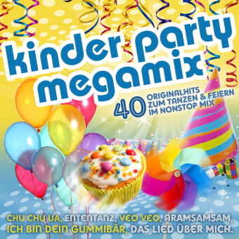 Kinder Party Megamix, 1 Audio-CD