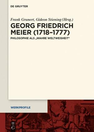 Georg Friedrich Meier (1718-1777)