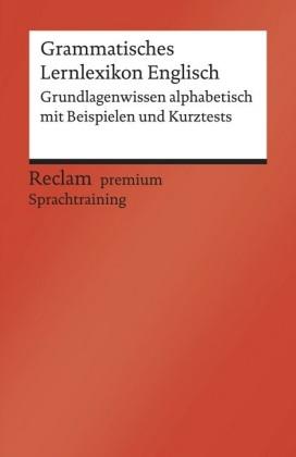 Grammatisches Lernlexikon Englisch