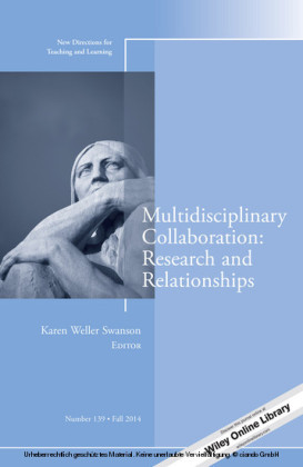 Multidisciplinary Collaboration: Research and Relationships
