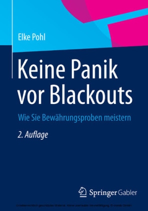 Keine Panik vor Blackouts