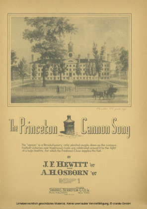 The Princeton Cannon Song