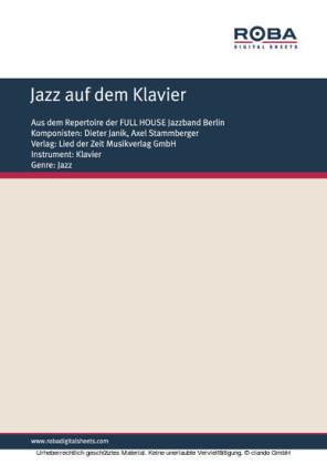 Jazz auf dem Klavier