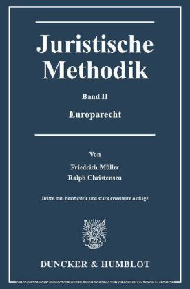 Juristische Methodik.