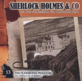 Sherlock Holmes & Co - Das flammende Phantom, Audio-CD