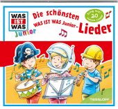 Die schönsten Junior Lieder, 1 Audio-CD Cover