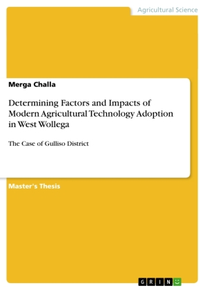 Determining Factors and Impacts of Modern Agricultural Technology Adoption in West Wollega