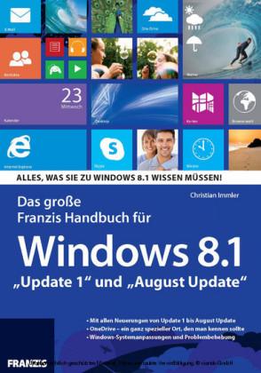 Das große Franzis Handbuch für Windows 8.1
