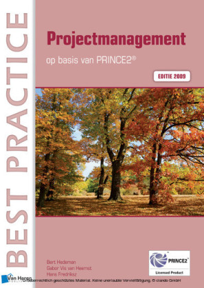 Projectmanagement op basis van PRINCE2 Editie 2009