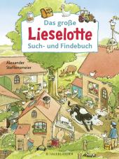Das große Lieselotte Such- und Findebuch Cover