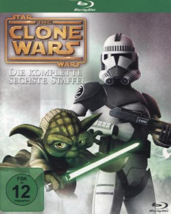 The Star Wars: The Clone Wars, 3 Blu-ray
