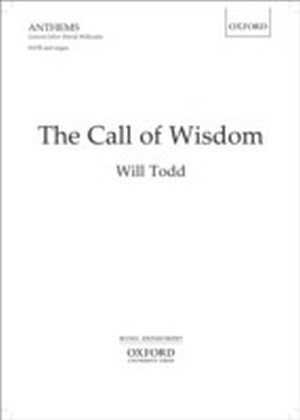 Call of Wisdom: SATB vocal score