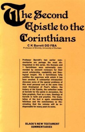 Second Epistle to the Corinthians