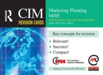 CIM Revision Cards: Marketing Planning 04/05