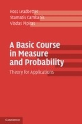 Basic Course in Measure and Probability