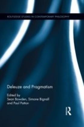 Deleuze and Pragmatism