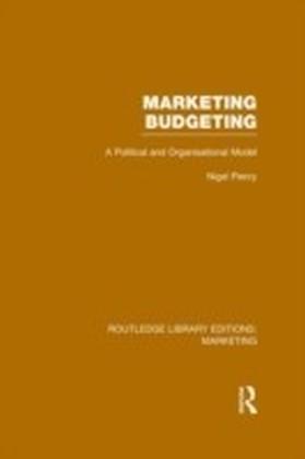 Marketing Budgeting (RLE Marketing)