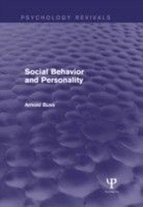 Social Behavior and Personality (Psychology Revivals)
