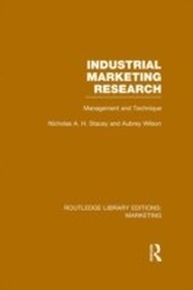 Industrial Marketing Research (RLE Marketing)