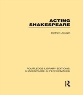 Acting Shakespeare