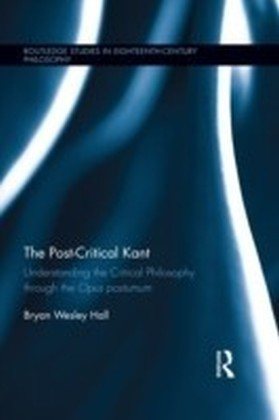 Post-Critical Kant