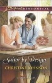 Suitor by Design (Mills & Boon Love Inspired Historical) (The Dressmaker's Daughters - Book 2)