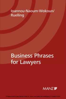 Business Phrases for Lawyers