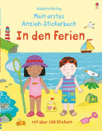 Mein erstes Anzieh-Stickerbuch: In den Ferien